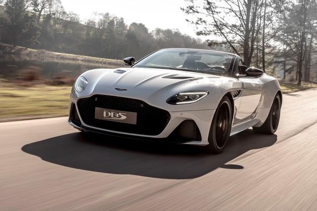Aston Martin DBS Superleggera Volante - Offener V12-Genuß