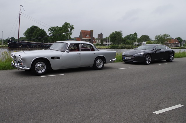 Impression Lagonda Rapide und Aston Martin Rapide - Rapide im Doppelpack