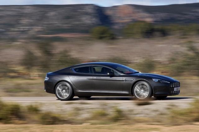 Aston Martin Rapide: Spieglein, Spieglein - wer ist der schönste Viertürer im Land? (Vorabbericht)