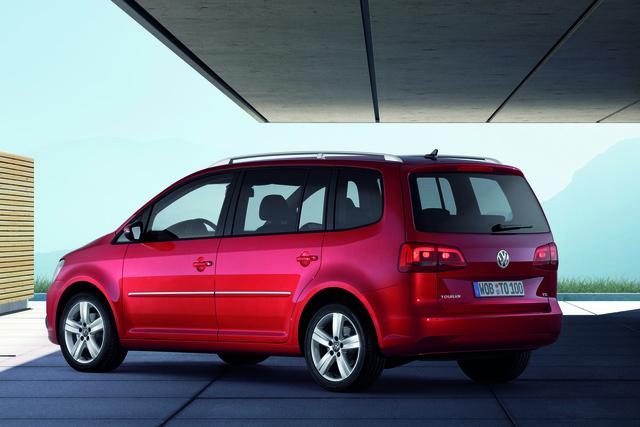 Volkswagen Touran: Auf hohen Touren