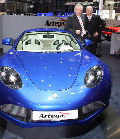 Sportwagenmanufaktur Artega steht vor dem Neustart