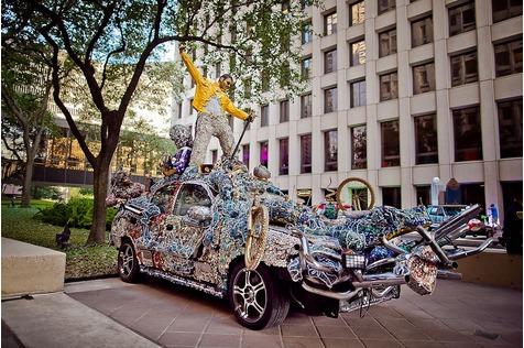 Houston Art Car Parade - Rollende Kunst