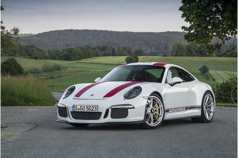 Porsche 911 R - Im Auge des Orkans