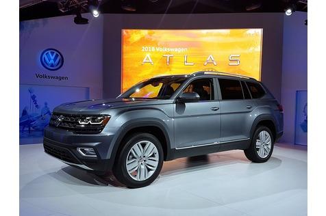 Weltpremiere VW Atlas - Fettes Teil