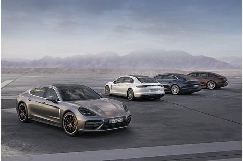 Porsche Panamera 4 / Executive - Oben und unten