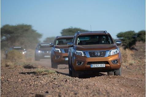 Wüstentripp im Nissan Navara - In der Sandkiste