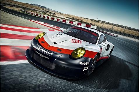 Porsche 911 RSR - Dem Fahrer zuliebe