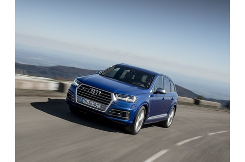 Audi S Q7 - Donner trifft Wetter
