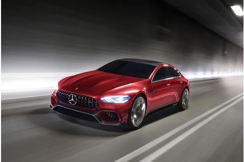 Mercedes AMG GT Concept - Panamera-Jäger