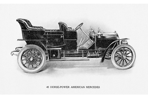 American Mercedes von Steinway - Ganz ohne Flügel