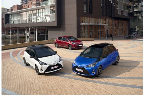Toyota Yaris Hybrid - Yaris-Wechsel
