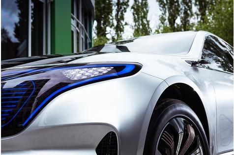 Mitfahrt Mercedes EQ C - Schöne neue Elektrowelt