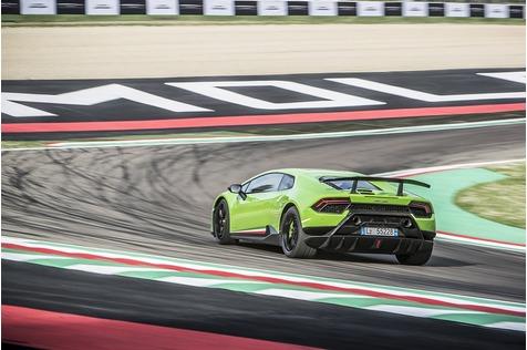 Lamborghini Huracan Performante - Flügelschlag