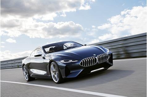 BMW 8er Concept - Scharfes Teil