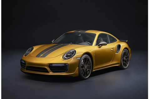 Porsche 911 Turbo S Exclusive Series - Schnell sein