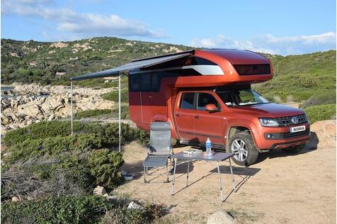 VW Amarok Geho Cab Kora - Huckepack ins Glück