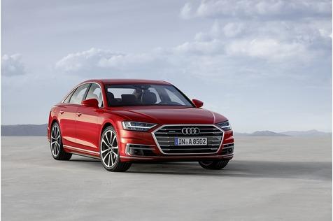Weltpremiere Audi A8 - Daniel Düsentrieb