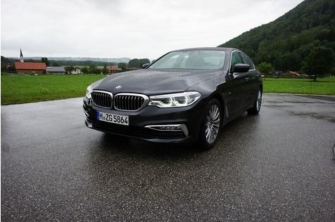 BMW 530d Luxury Line - Solides Goldstück