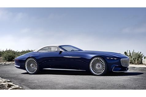 Vision Mercedes-Maybach 6 Cabriolet - Der Sonnenkönig