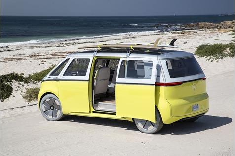 Der VW I.D. Buzz kommt dank des Allradantriebs fast überall hin