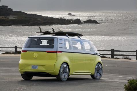 Der VW I.D. Buzz soll ein rollendes Büro werden