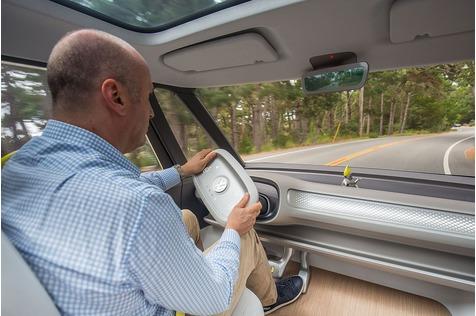 Der VW. I.D. Buzz fährt sich entspannt