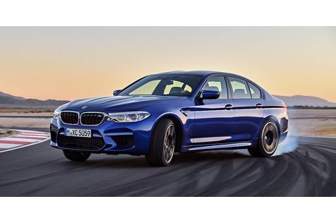 BMW M5 2018 - Auf allen Vieren