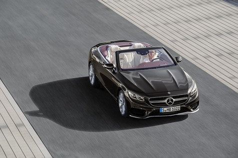 Mercedes S-Klasse Coupé / Cabrio Modellpflege - Nachgelegt