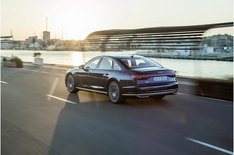 Audi A8 55 Quattro TFSI - Zukunftsversprechen
