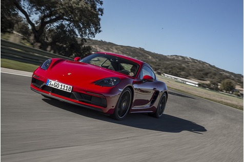 Porsche 718 Cayman GTS - Blasse Versuchung