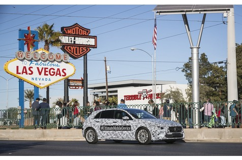 Mercedes A-Klasse wird zur Großfamilie - Hey Mercedes!
