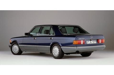 Mercedes 560 SEL wird Oldtimer - Das Beste oder Nichts
