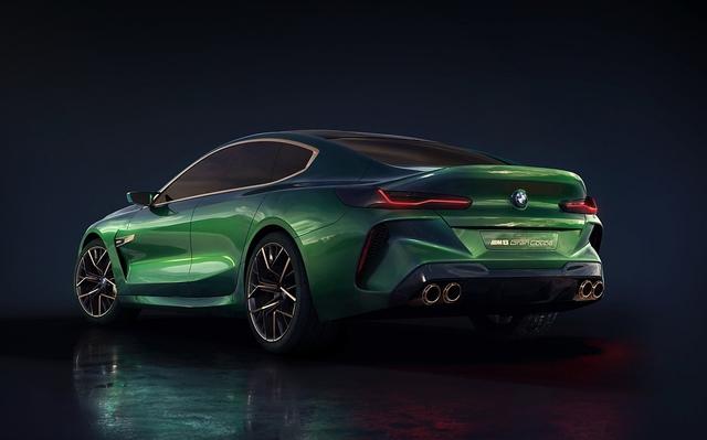 BMW Concept M8 Gran Coupé - Dreigestirn