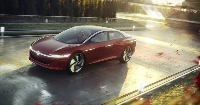 VW I.D. Vizzion Concept - Passat der Zukunft