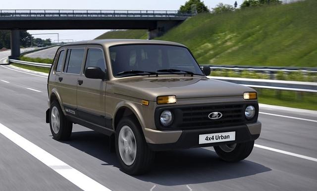 Lada 4x4 Fünftürer - Familienzuwachs