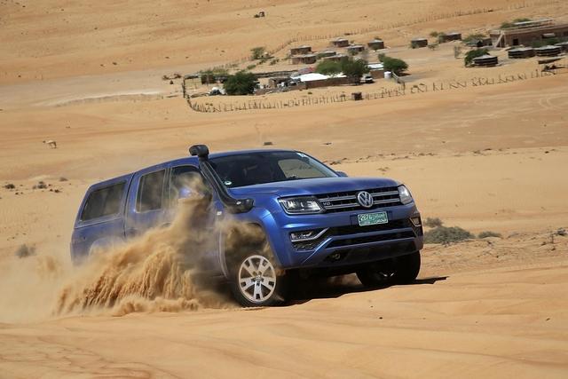 Mit dem VW Amarok durch die Wüste - Durch die Wüste