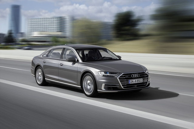 Audi A8 50 TDI Quattro - Neue Größe