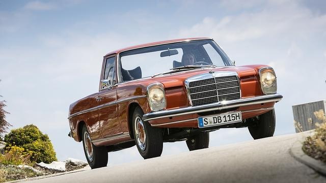 Mercedes La Pickup (W115) - Sternen-Gaucho