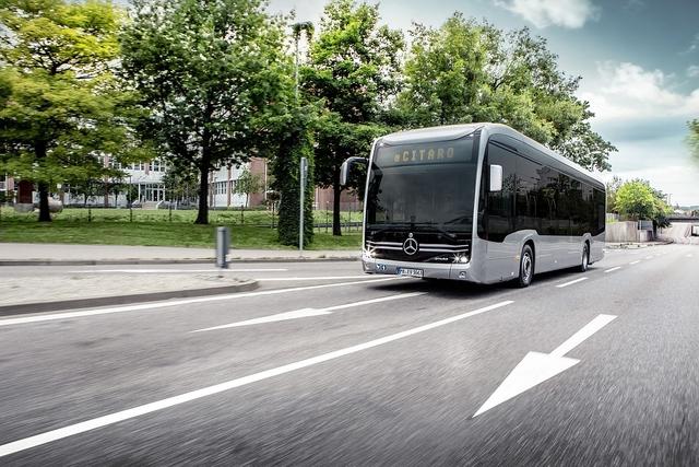 Mercedes eCitaro - Aufwärtskompatibel