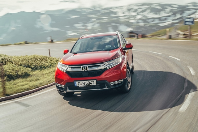Honda CR-V 1.5 VTEC Turbo - America first