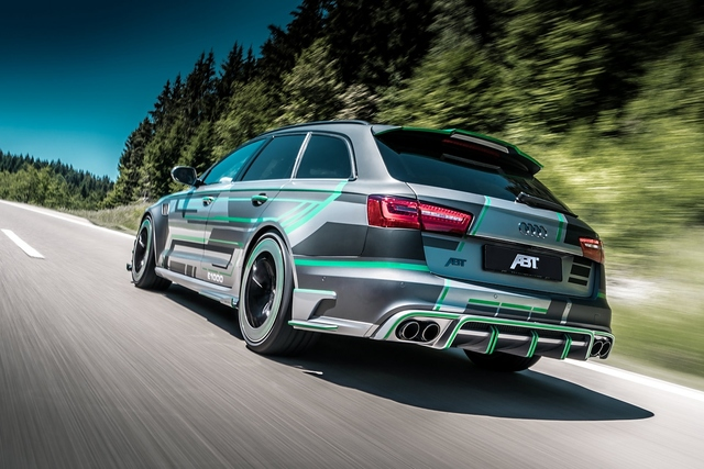 Abt Audi RS6-E - Vollgas mit über 1.000 PS