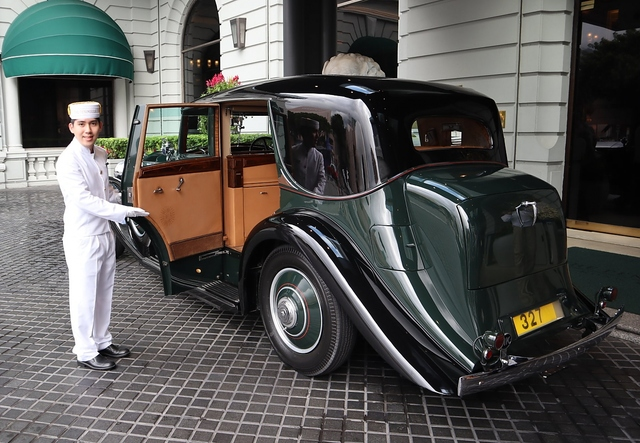 Rolls-Royce Phantom II des Peninsula Hotels Hong Kong - Legendenbildung