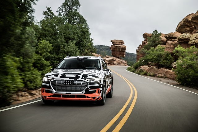 Das kann der Audi e-tron quattro - Technologie-Baukasten