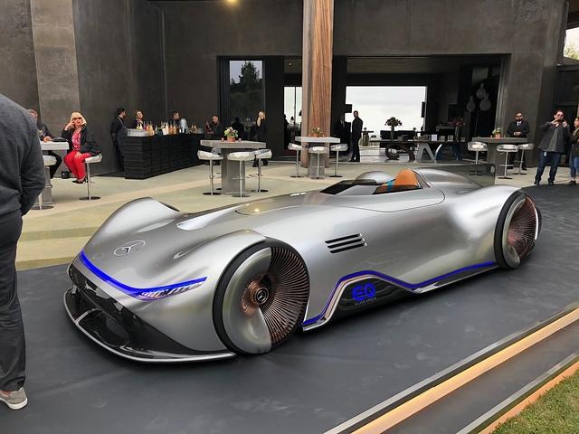 Mercedes EQ Silver Arrow - Zurück in die Zukunft