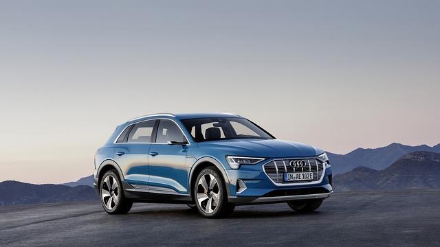Audi e-tron Quattro - Aerodynamisches Sudoko