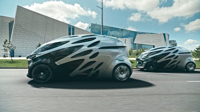 Mercedes Vision Urbanetic - Skateboard von Übermorgen