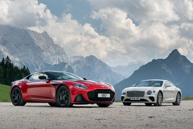 Aston Martin DBS - Bentley Continental GT - Reich und schön