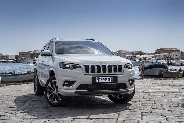 Jeep Cherokee 2.2 MultiJet 2019 - Innere Werte