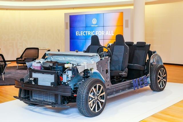 Das kann MEB - der Elektrobaukasten von VW - E-Demokratisierung