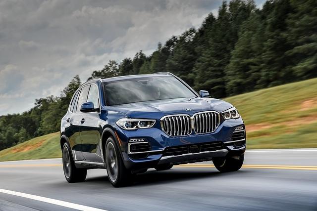 BMW X5 xDrive 40i - Sternenhimmel